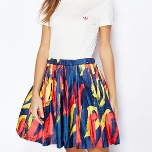 ADIDAS Women's AB2643 PARIS Print DRESS